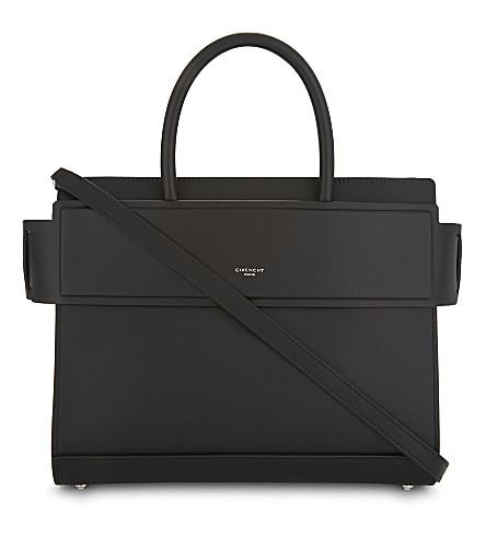 e6b4284c04 GIVENCHY Horizon small leather shoulder bag (Black