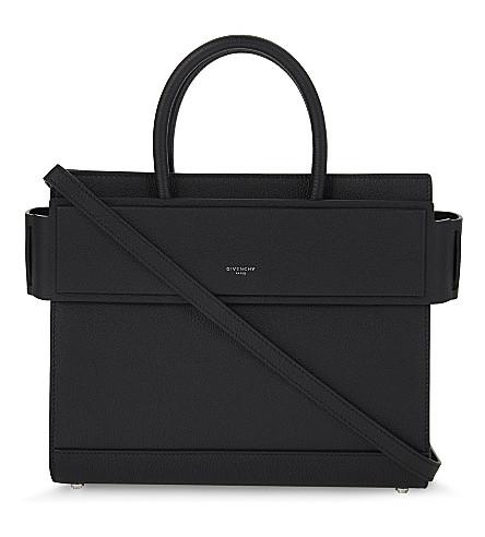 4a92d6908b00 ... GIVENCHY Horizon small leather shoulder bag (Black. PreviousNext