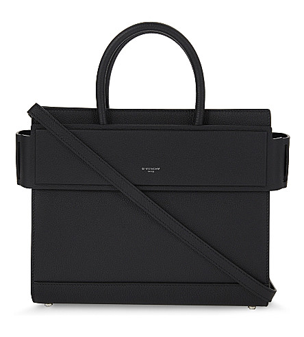 GIVENCHY Horizon small leather shoulder bag (Black