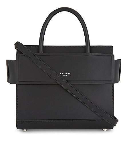 GIVENCHY Mini Horizon leather cross-body bag (Black 84abd056fddf7