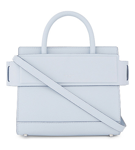 GIVENCHY Horizon leather cross-body bag (Baby+blue