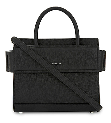 GIVENCHY Horizon leather cross-body bag (Black