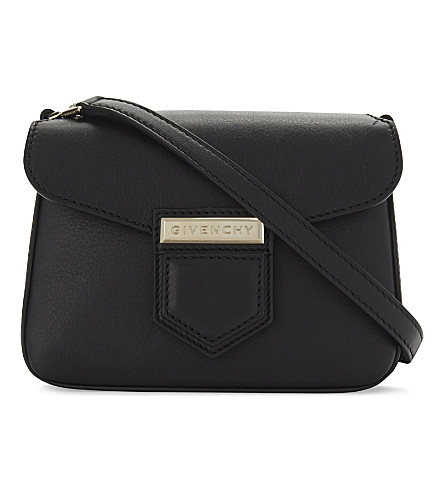 GIVENCHY Nobile mini leather cross-body bag (Black