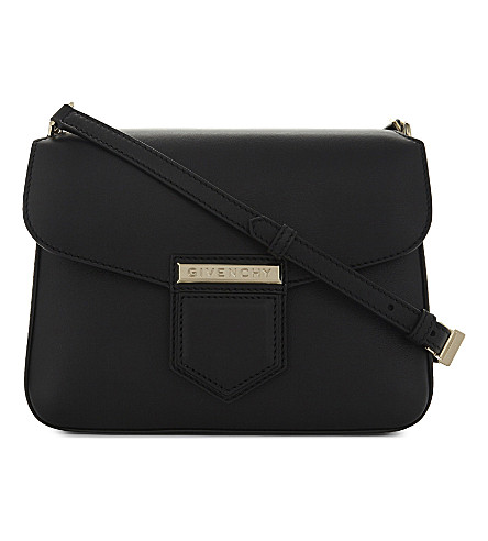 GIVENCHY Nobile leather shoulder bag (Black