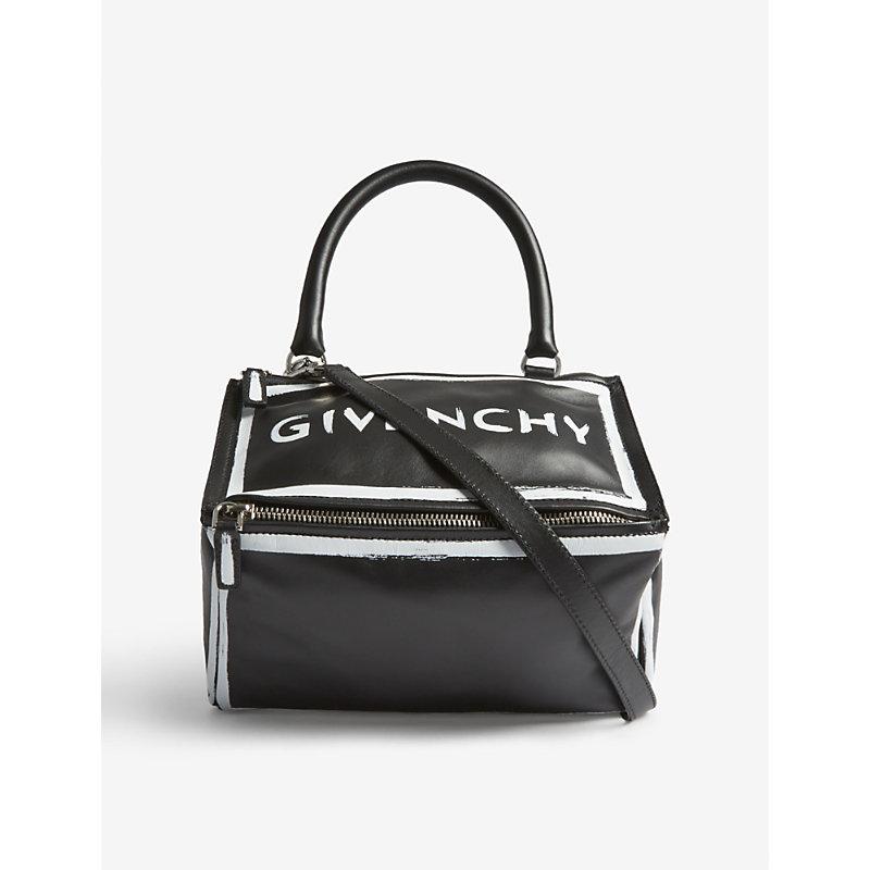 Pandora Graffiti leather shoulder bag