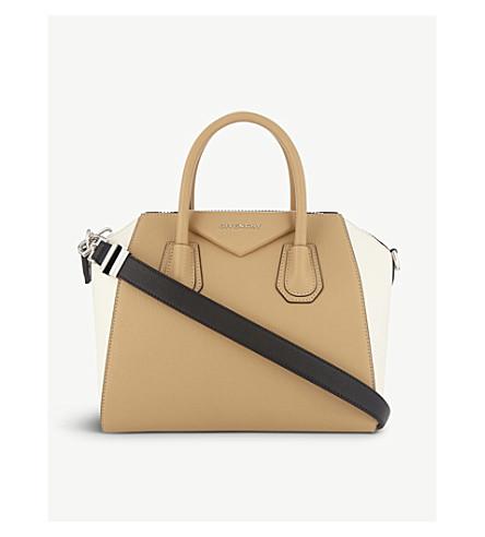 GIVENCHY Antigona leather tote (Light+beige