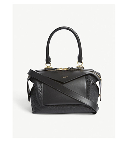 GIVENCHY Sway small leather shoulder bag (Black