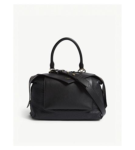 GIVENCHY Sway medium leather shoulder bag (Black