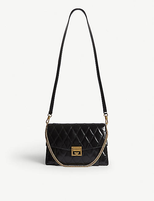 0de8e9f0fd7 GIVENCHY GV3 quilted leather shoulder bag