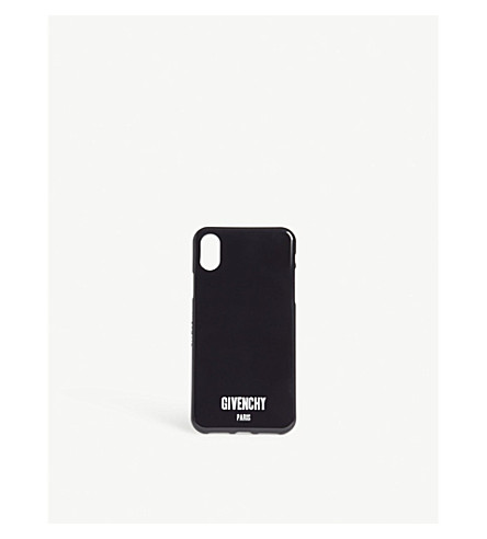 GIVENCHY Paris logo iPhone 8 case (Black