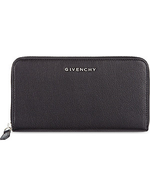 GIVENCHY Zip around leather wallet