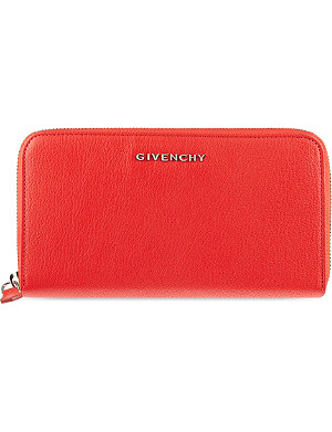 GIVENCHY Zip aournd leather wallet