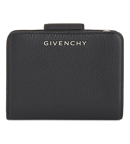 GIVENCHY Compact leather wallet (Black