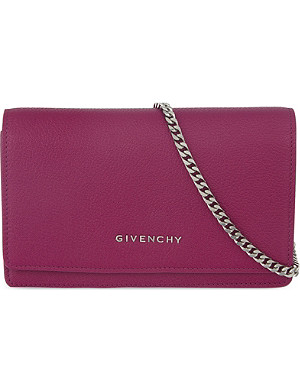 GIVENCHY Pandora chain wallet clutch
