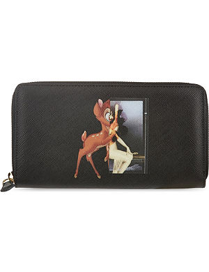 GIVENCHY Bambi zip around wallet