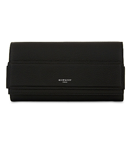 GIVENCHY Horizon leather wallet (Black