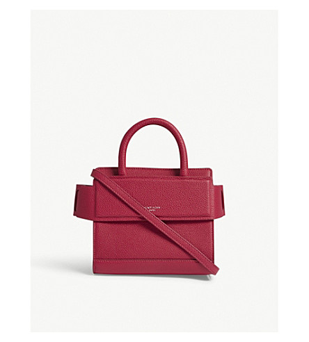 GIVENCHY Horizon nano leather shoulder bag (Fuschia