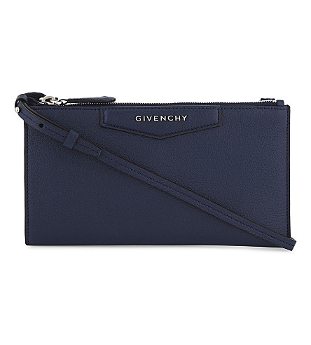 GIVENCHY Antigona leather cross-body bag (Night+blue