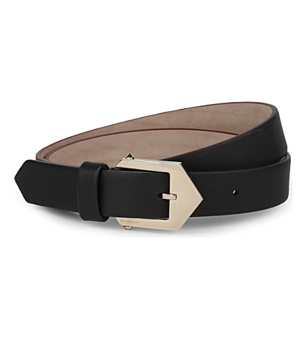 GIVENCHY Hip waist belt (Black