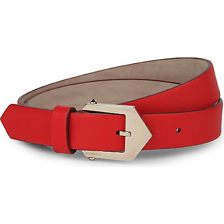 GIVENCHY Hip waist belt (Red