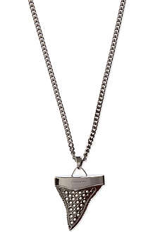 GIVENCHY Large pearl shark tooth necklace