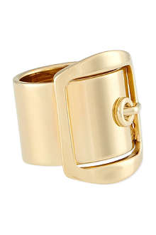 GIVENCHY Gold buckle ring