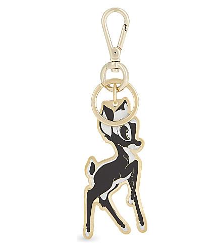 GIVENCHY Bambi keyring charm (Multi