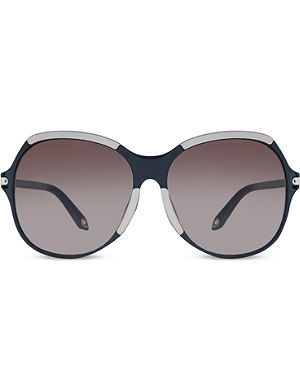 GIVENCHY Seven SGV927 oversized sunglasses