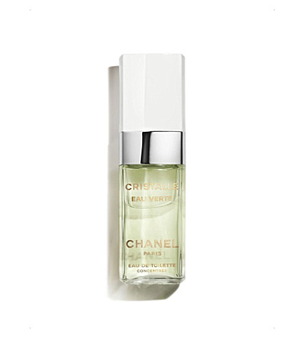 CHANEL <strong>CRISTALLE EAU VERTE</strong> Eau de Toilette Concentr&eacute;e Spray 100ml