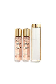 CHANEL COCO MADEMOISELLE Eau de Parfum Twist & Spray 3x20ml