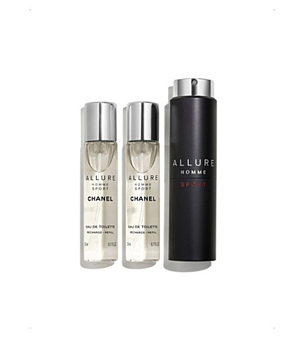 CHANEL <strong>ALLURE HOMME SPORT</strong> Eau de Toilette Sport Spray 3 x 20ml