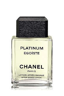 CHANEL PLATINUM ÉGOÏSTE After–Shave Lotion