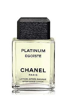CHANEL PLATINUM ÉGOÏSTE After–Shave Lotion