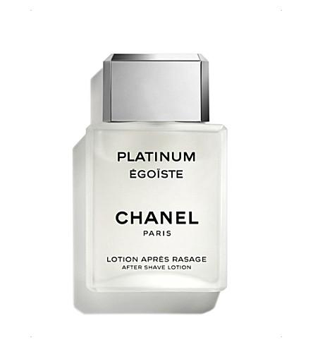 CHANEL <strong>PLATINUM ÉGOÏSTE</strong> After Shave Lotion 100ml
