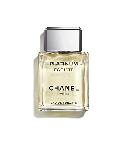 CHANEL <strong>PLATINUM &Eacute;GO&Iuml;STE</strong> Eau de Toilette Spray 50ml