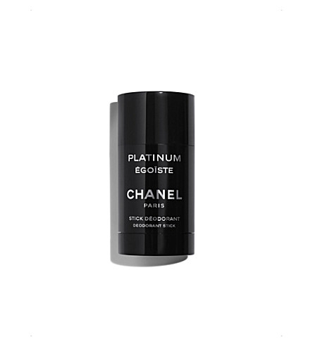 CHANEL <strong>PLATINUM &Eacute;GO&Iuml;STE</strong> Deodorant Stick 75ml