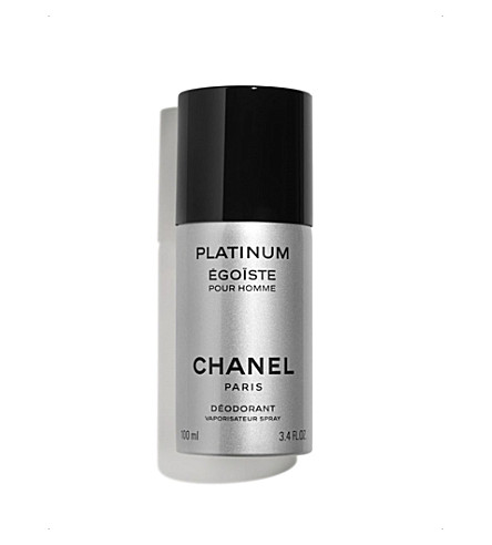 CHANEL <strong>PLATINUM &Eacute;GO&Iuml;STE</strong> Spray Deodorant 100ml