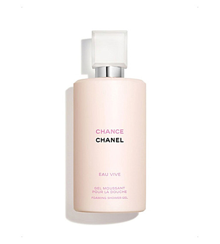 CHANEL <strong>CHANCE EAU VIVE</strong>Foaming Shower Gel 200ml