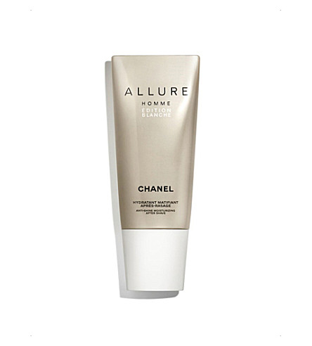 CHANEL <strong>ALLURE HOMME ÉDITION BLANCHE</strong> Anti–Shine Moisturising After–Shave