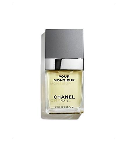 CHANEL <strong>POUR MONSIEUR</strong> Eau de Toilette Concentr&eacute;e Spray 75ml