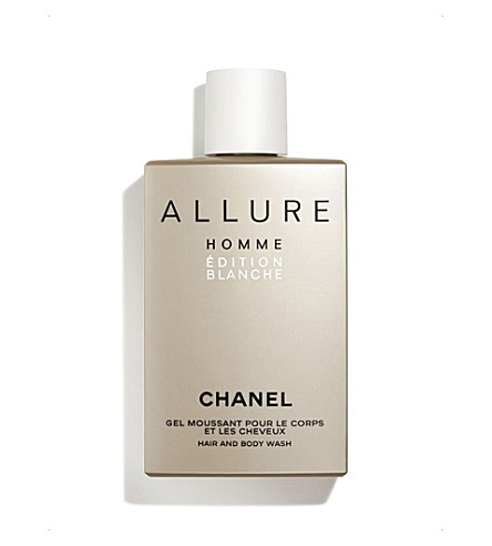 CHANEL <strong>ALLURE HOMME ÉDITION BLANCHE</strong> Hair and Body Wash 200ml