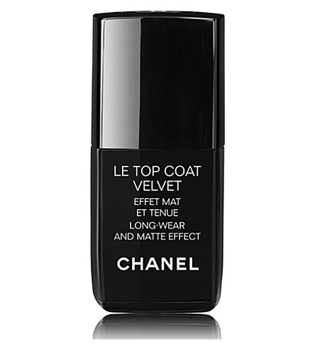 CHANEL <strong>LE TOP COAT VELVET</strong> Long-Wear and Matte Effect