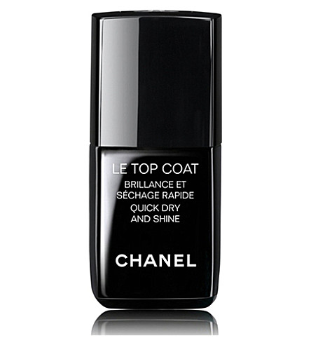 CHANEL <strong>LE TOP COAT </strong>Quick Dry and Shine