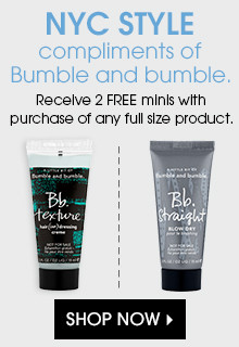 Receive 2 free minis with purchase of any full size product. Shop Now