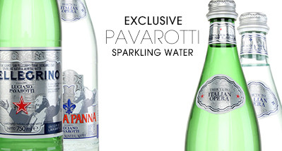 Exclusive Pavarotti Sparkling Water
