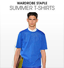 Wardrobe staple - summer t-shirts