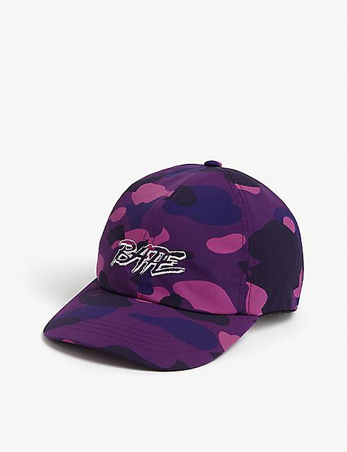 A BATHING APE Bape camouflage baseball cap