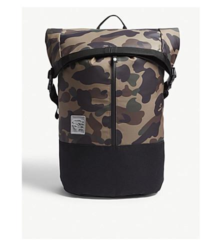A BATHING APE 1st camo roll backpack