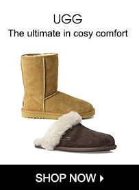 UGG - the ultimate in cosy comfort - shop now