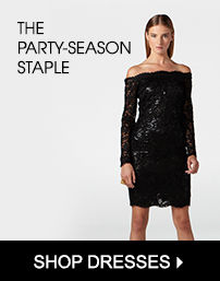 The Party-Season Staple - Shop Dresses
